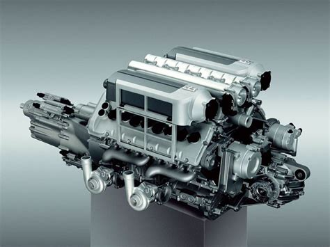 the bugatti veyron engine features an 8 0 litre turbocharged 64 valve w16 cylinder
