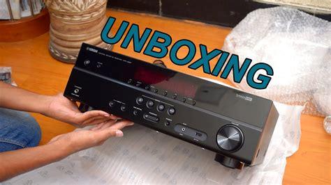 Yamaha Htr 2067 Av Receiver 5 1ch yamaha rx v377 htr 3067 av receiver unboxing 2016