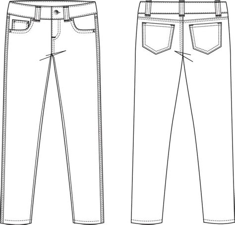 flat drawing template garment flat sketches for search