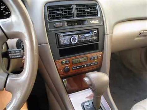 2001 lexus es300 new stereo demo youtube