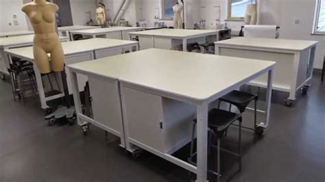 pattern making cutting table pattern cutting tables with built in storage youtube