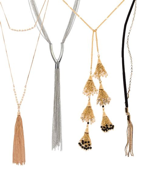 Trends Jewelry shop the tassel jewelry trend instyle