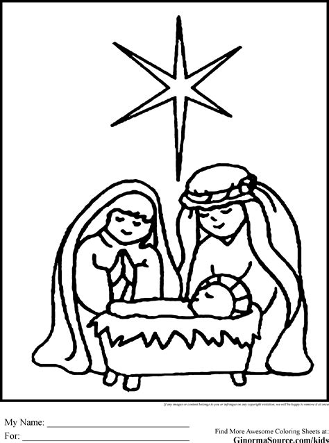 catholic nativity scene coloring pages simple nativity coloring pages crafts pinterest