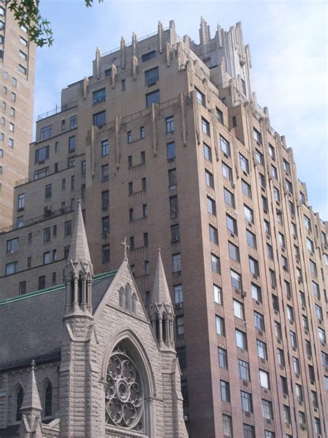 Apartment Building Used In Ghostbusters 55 Central Park West Barrett S Apartment Building