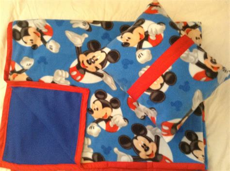 mickey mouse pillow and blanket set mickey mouse fleece blanket pillow set by bluesblankets