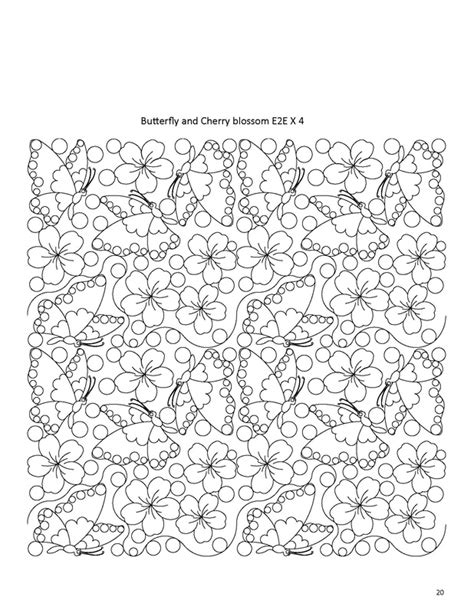 Digitized Quilt Patterns by Edge To Edge Quilting Longarm Quilting Patterns