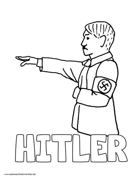 hitler biography worksheet history coloring pages volume 4