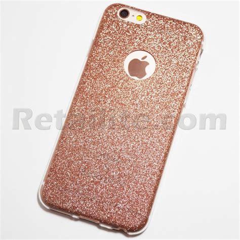 Softcase Glitter Iphone 6 Plus Gliter Blink Soft Gold Glitter Iphone 6 Iphone 6s Soft