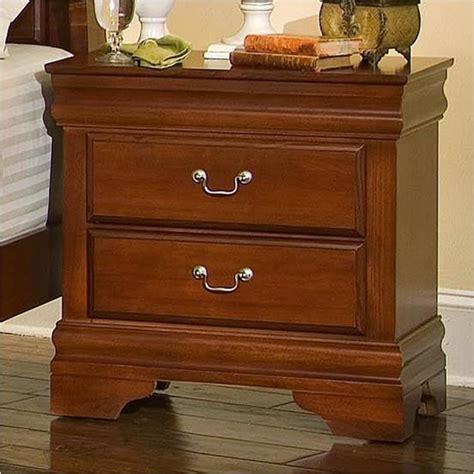 bb  vaughan bassett furniture nightstand cherry
