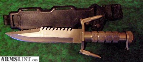 buck 184 survival knife for sale armslist for sale buck survival knife 184