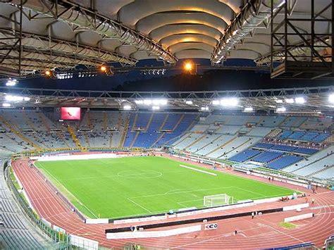 ingresso tribuna monte mario stadio olimpico stadion in roma