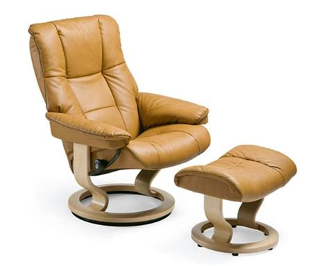 stress less recliner leather recliner chairs stressless mayfair
