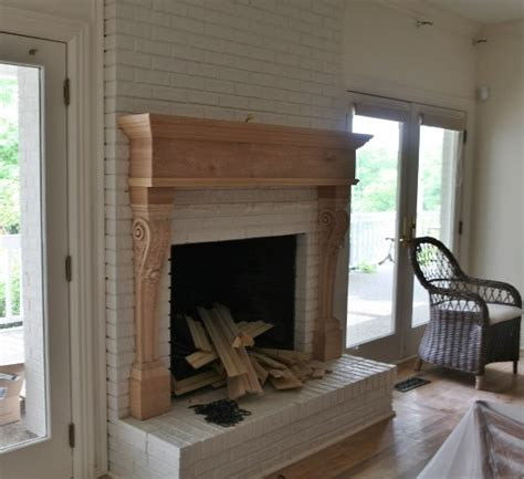 Fireplace Transformation by What Can I Put Brick Fireplace Brown Hairs