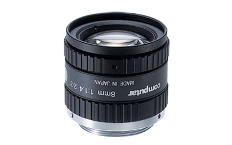 m0814 mp2 : manual iris: megapixel monofocal lenses