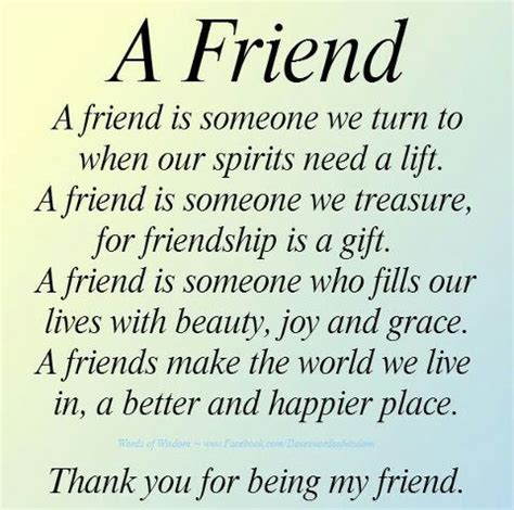 Thank You For Being My Friend Friendship