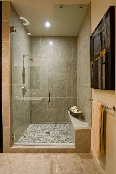 Simple Bathroom Tile Design Ideas by To Da Loos Showers With Built In Benches