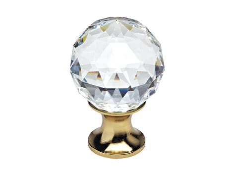 pomelli swarovski pomello per mobili con cristalli swarovski 174 by