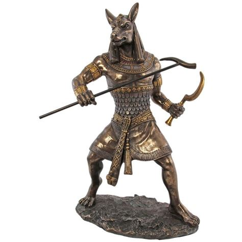 god statue seth egyptian lord of chaos statue 10 inch statue