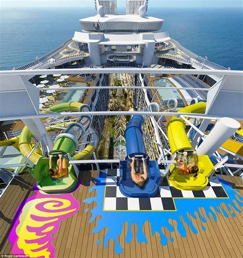 royal caribbean harmony of the seas royal caribbean to introduce a water park on harmony of