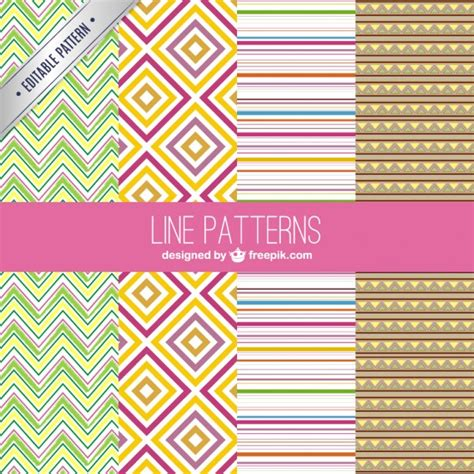 vector line pattern tutorial line patterns vector free download