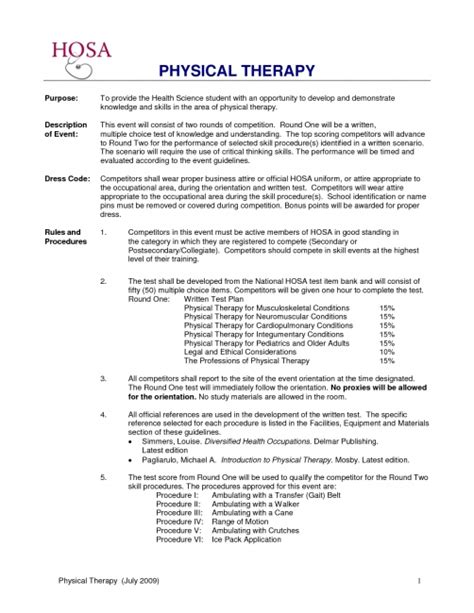 Experience Letter Physiotherapist physical therapy assistant cover letter with no experience
