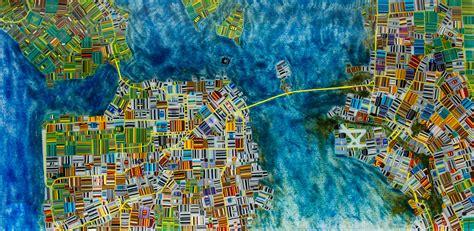san francisco map glass map of san francisco by renato foti glass wall