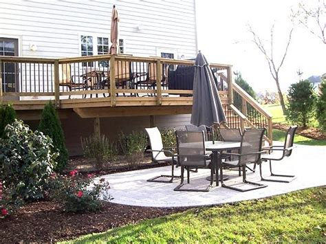 Deck and patio combo   Deck design and Ideas