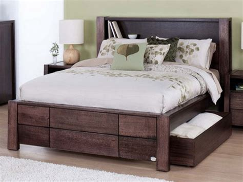 bed storage frame rustic king storage bed frame modern storage twin bed design build a double king