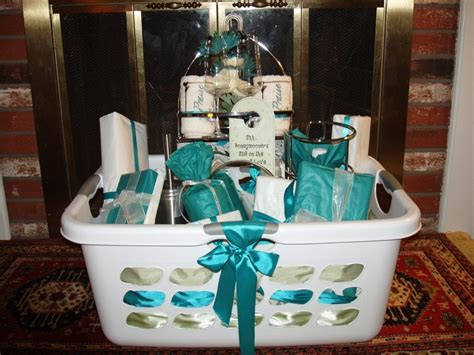 cool wedding shower gift ideas basket decorating ideas bridal freshness wedding basket