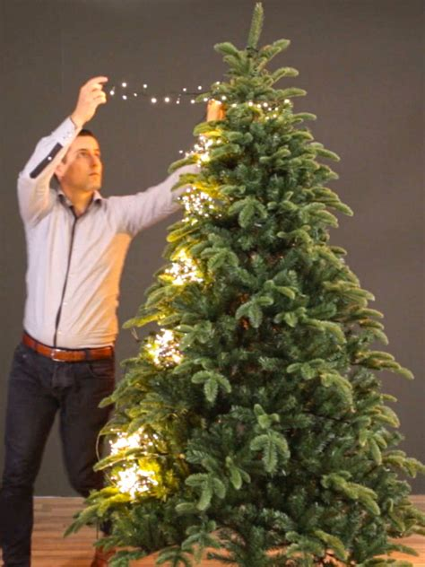 led christmas tree lights effortless setup warm white leds