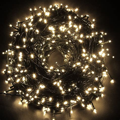 safe christmas lights safe low voltage warm white lights 30m 10m 300 led outdoor tree ebay