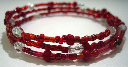how to make a beaded bracelet with wire make a bead bracelet using memory wire