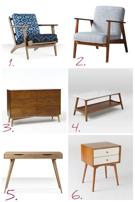 mid century modern reproduction furniture 6 of the best midcentury reproduction pieces pink