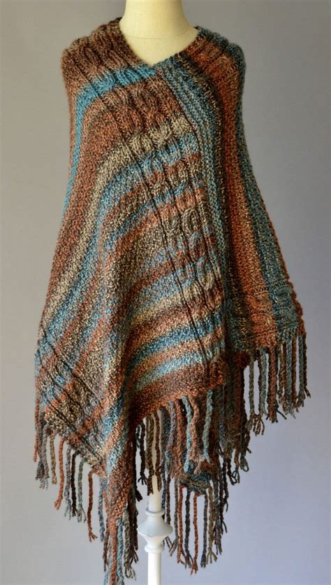 knitted poncho for 25 best ideas about poncho knitting patterns on