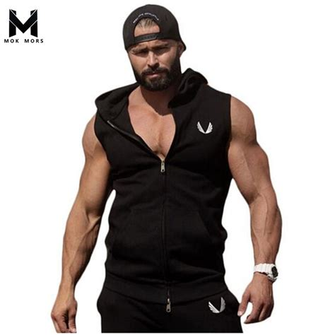 bodybuilding clothing weightlifting shirts fitness apparel for men online buy wholesale shirt sleeveless men from china shirt