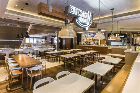 corporate food court design kitchen eleven zanghellini holt associates
