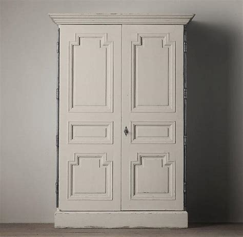 armoire hardware weathered white montpellier armoire