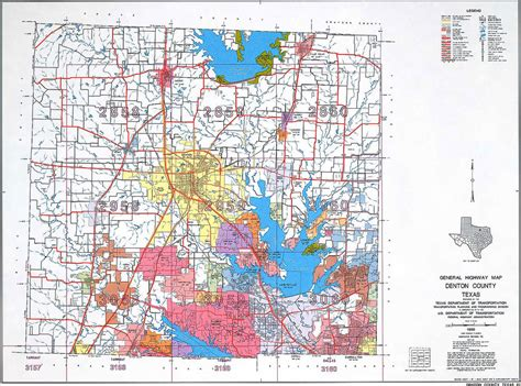 map denton texas map of denton county world map 07
