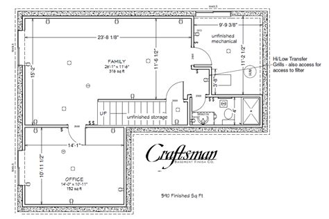 basement blueprints basement floor plan craftsman basement finish colorado