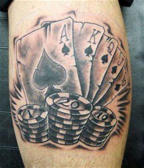 pair of dice tattoo 1000 ideas about on card