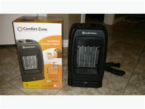 comfort zone oscillating heater comfort zone oscillating ceramic space heater north regina