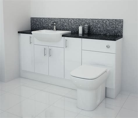 fitted bathroom furniture white gloss bathcabz bathroom fitted furniture products fitted