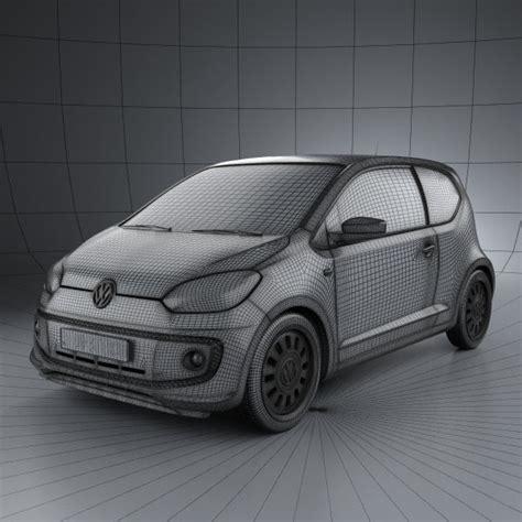 volkswagen up 2012 volkswagen up 2012 3d model hum3d
