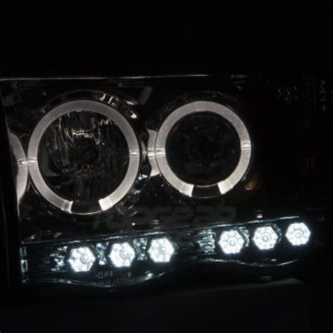 2005 dodge ram smoked lights dodge ram 2002 2005 smoked halo projector headlights and