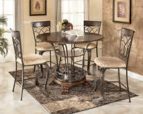 Counter Height Dining Room Table Sets Alyssa 48 Quot Round Counter Height Table Dining Set Ashley