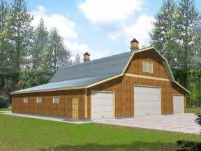 Garage Barn Designs outbuilding plans barn style outbuilding design 012b 0003 at