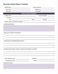 itil incident report form template free incident report templates smartsheet