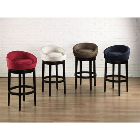 Microfiber Swivel Bar Stools by Igloo Microfiber Swivel Barstool Dcg Stores