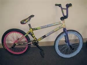 custom bmx bike paint jobs
