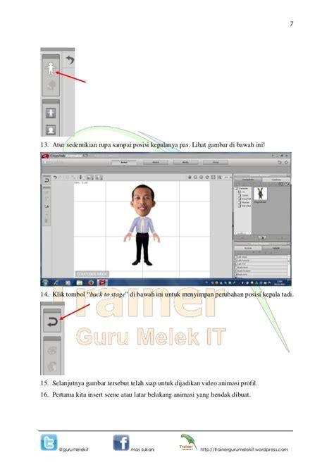 membuat video animasi dengan wajah sendiri 3 modul membuat video animasi profil dengan wajah sendiri